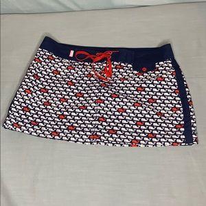 Vineyard Vines swim cover up skirt- women's size 4